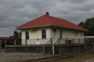 Woodlawn Depot as it appears today.